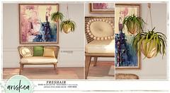 N21- FreshAir - Ariskea (ariskea) Tags: ariskea decor eclectic new looks garden cute secondlife n21 event boho