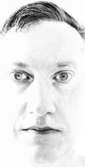 Bright Elf (spratpics) Tags: bright elf brightelf theotherfolk photographybypaulwalker paulwalker uk teesside blackandwhite artisticphotography monochrome darkart darkportrait folklore portrait portraiture