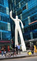 Gangnam Man (Mondmann) Tags: gangnam man sculpture art publicart seoul korea southkorea rok republicofkorea asia eastasia street streetphotography candid mondmann canonpowershotg7x