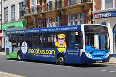 GX13 AOZ, The Hard, Portsmouth, May 10th 2018 (Southsea_Matt) Tags: gx13aoz 27878 route21 stagecoach southdown alexanderdennis enviro300 adl e300 thehard travelinterchange portsmouthharbour portsmouth hampshire england unitedkingdom may 2018 spring canon 80d bus omnibus transport