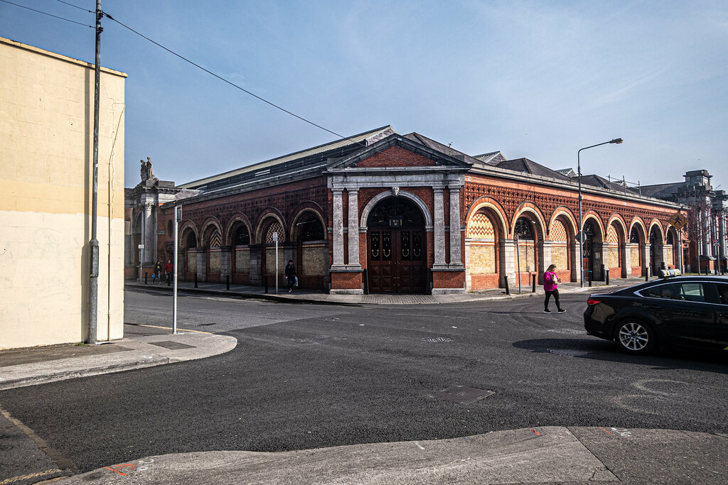REDEVELOPMENT ONGOING AT THE DUBLIN CITY FRUIT AND VEGETABLE MARKET [PHOTOGRAPHED APRIL 2019]-151480