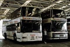 Durham Travel Services 11 & 10 B171, 170 REF (mj.barbour) Tags: durham travel services 11 10 b171 170 ref auwerter neoplan n7223 plaxton 4000