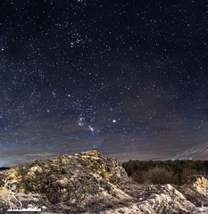 Quiet, stars and solitude on the Appenini (simone_aramini) Tags: landscapes nightscapes longexposure mountain sigmalens montagna paesaggio nikond810 colors sky scapes stars astrophotography appennino absolutelystunningscapes