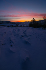 Dawn (stefan.pavic1) Tags: sunrise dawn nature snow outdoor 7d mark2 colors