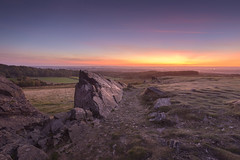 Autumn Sunrise at Bradgate (John__Hull) Tags: sunrise autumn bradgate park charnwood forest uk england leicestershire landscape woods view nikon d7200 sigma 1020mm sky clouds precambrian rocks