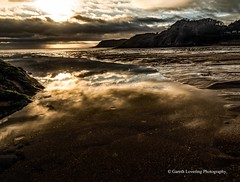 Sunset over Caswell Bay 2019 01 25 #3 (Gareth Lovering Photography 5,000,061) Tags: sunset sun sunny sunshine caswell gowercoast gower swansea wales seaside landscape beach walescostalpath olympus penf garethloveringphotography