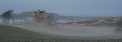In the mists of time. (AlbOst) Tags: scottishcastles castles fife mist mistymorning mistclearing scotland historicscotland