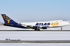 N475MC Atlas Air Boeing 747-47U(F) DSC_4936 (Ron Kube Photography) Tags: aircraft plane flight airliner nikon d7200 nikond7200 ronkubephotography yyc calgary calgaryinternationalairport boeing74747uf n475mc atlasair