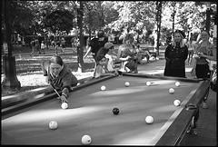 (Igor Baranchuk) Tags: moscow street leica leicam6 35mm film analog billiards ilford ilfordpan ilfordpan400 bw