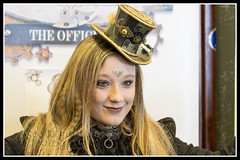 IMG_0018-7 (Scotchjohnnie) Tags: whitbysteampunkweekendfebuary2019 whitbysteampunkweekend steampunk costume thepavillion people portrait female canon canoneos canon7dmkii canonef70200mmf28lisiiusm scotchjohnnie