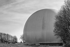 Sternwarte (mkniebes) Tags: observatory bochum germany blackandwhite blackwhite city urban science stars astronomy orb smcpfa77mmf18 pentax