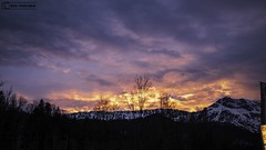 sonnenuntergang (Der Foto_Graf) Tags: sonne sonnenuntergang berchtesgaden travel sunset mountains derfotograf bayern beautiful bewölkt cloudy olympuscamera omdem1mii omd abenteuer ausflug awsome adventure