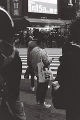 Big face (Architecamera) Tags: blackandwhite blackwhite snap shibuya film