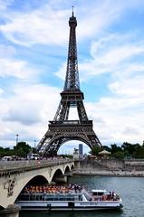 Postcard of Paris (Valantis Antoniades) Tags: paris france eiffel tower seine river bridge architecture