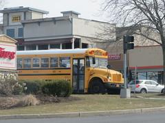 New Paltz CSD #90 (ThoseGuys119) Tags: newpaltzcsd newpaltzny schoolbus ic ce leonardbussales extrastorage whitetop