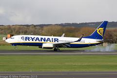 EI-FID - 2015 build Boeing B737-8AS, arriving on Runway 30 at Prestwick (egcc) Tags: 44694 5301 b737 b737800 b7378as b737ng boeing egpk eifid fr jw191 jointwarrior jointwarrior191 lightroom pik prestwick ryr ryanair