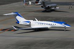 Private Bombardier BD-700-1A11 B-99998 (Mark Harris photography) Tags: spotting plane hnd haneda jpn aviation canon