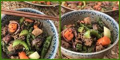 Seitan Stir Fry (Vegan Feast Catering) Tags: fdsflickrtoys seitan rice veggies vegan