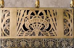 X_P1130586 (Menny Borovski) Tags: chaninbuilding newyork artdeco architecturaldetail detail metalgrill grill chanin brass