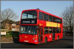 Go-Ahead London Metrobus 949, Coney Hall (Jason 87030) Tags: metrobus doubledecker scania omnidecka rare 949 color colour roundabput way road shot canon coneyhall westwickham january 2019 roadside forestdale 353 wheels