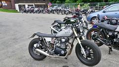 Bikes auf dem Auerberg (Sanseira) Tags: motorrad motorräder bikes bernbeuren auerberg yamaha dicke reifen triumph