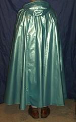 bleu-argent-4 (rainand69) Tags: cape umhang cloak pèlerine pelerin peleryna pvccape raincape regencape a