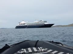 Silver Cloud, return from New Island, Falkland Islands (Mulligan Stu) Tags: zodiac newisland falklandislands