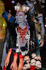 Shiva does Manhattan (Don Mosher Photography) Tags: street candid woman nyc halloween