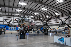 Boeing B-29 Superfortress (Serendigity) Tags: arizona b29 boeing pimaairspacemuseum sentimentaljourney superfortress tucson usa usaaf unitedstates wwii aircraft aviation bomber hangar indoors museum unitedstatesofamerica