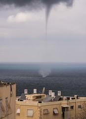 Haifa Waterspout (david55king) Tags: david55king haifa balcony waterspout mediterraneansea mediterranean sea israel ישראל חיפה ים יםהתיכון מרפסת