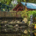 Flame Tree Barbecue Seating Area thumbnail
