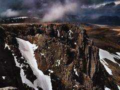Cairngorms, Scotland. (RichardByers01) Tags: scotland highlands cairngorms mountain mountains travelphotography adventure climbing mountaineering walking trekking hiking landscape mountainscape sunset goldenlight olympus rock clouds sky