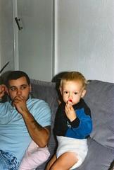 205_Darren1987 (wrightfamilyarchive) Tags: andy darren wright 1987 1980s 80s eighties