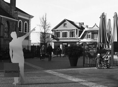 Have a look (Ernst-Jan de Vries) Tags: ommen overijssel town pointing bw sw zw adox adoxchs100art expired 120 mediumformat mittelformat middenformaat film analoog analogue r09 rodinal 150 mamiya