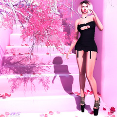 Come with me (alexandra sunny) Tags: lsr lic catwa maitreya piffy secondlfe woman pink blog blogger whorecoutureevent modan
