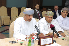 H.E. Mohsin bin Khamis Al Balushi. Advisor Ministry of Commerce & industry of Oman 1 (Qatar Chamber) Tags: qatar oman chamber commerce delegation business
