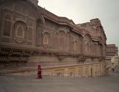 1942 (The Dent.) Tags: mamiya7ii meranghar fort pro400h india jodhpur
