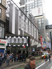 Beetlejuice The Musical Winter Garden Theater Marquee 4368 (Brechtbug) Tags: beetlejuice the musical winter garden theater marquee display 2019 nyc broadway 7th ave 51st street ben cooper halco collegeville monster creature graveyard ghoul dead guy moss hair green stripes fashion mutants villains tim burton film movie 1988 80s 1980s figure hell purgatory beatle beetle juice ghost with most michael keaton possession exorcist betelgeuse exorcism haunt