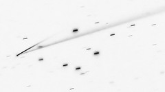 Asteroid 6478 Gault, variant (sjrankin) Tags: 6478gault grayscale eso europeansouthernobservatory asteroid asteroidgault edited tail disintegrate