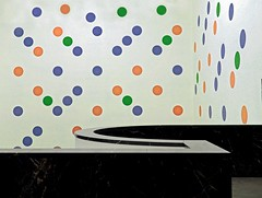 composition - 57 (Rino Alessandrini) Tags: backgrounds nopeople table abstract white indoors decoration illustration modern pattern red empty minimal wall entrance pois colors murals