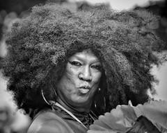diversity (gro57074@bigpond.net.au) Tags: diversity 2019 march pride eyecontact posed pose hair monochromatic monotone monochrome mono bw blackwhite f28 70200mmf28 nikkor d850 nikon sydney mardigras portrait