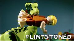 New Brickfilm! https://youtu.be/riL7dkIfH8I (woodrowvillage) Tags: lego legos minifigure flinstoned woodrow village brick film animation stop motion barney rubble flintstones fred comedy you tube