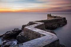 St Monans Winter Sunrise (roseysnapper) Tags: firth forth nikkor 2470 f28 nikon d810 st monans harbour wall fife scotland coast landscape seascape sunrise winter