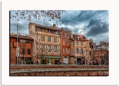 Café des Artisites Toulouse (capo.jeanclaude) Tags: toulouse croix daurade midipyrenee occitanie hautegaronne vielle maison cafe des artistes la architecture ville rose historique the magic eye