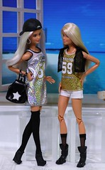 Sporty Sparkle (Annette29aag) Tags: barbie doll photography platinumpop doubledenim fashionista madetomove redressed restyle