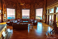 The View From Within (rebeccalatsonphotography) Tags: lodge sunroom interior interiorshot np nationalpark northrim grandcanyon summer canon rebeccalatsonphotography az arizona 5dsr 2470mm grandcanyonlodge