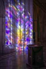 Morning Light at the Washington National Cathedral (jtgfoto) Tags: approved washingtonnationalcathedral architecture cathedral architecturalphotography washingtondc washington nationalcathedral sonyimages sonyalpha stainedglass light color church interior