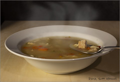Hot Soup (scottnj) Tags: 365the2019edition 3652019 day15365 15jan19 soup food foodphotography dinner meal eat spoon bowl scottnj scottodonnellphotography