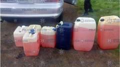 Policía detiene a Edgar 'N' por trasladar 225 litros de gasolina ilícita (HUNI GAMING) Tags: policía detiene edgar 'n' por trasladar 225 litros de gasolina ilícita