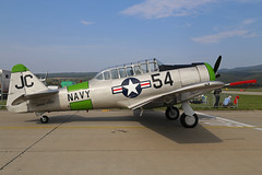 N366SF (84930 JC 54) North American SN5-J Texan United States Navy Colours Sliac 01st September 2018 (michael_hibbins) Tags: n366sf 84930 jc 54 north american sn5j texan united states navy colours sliac 01st september 2018 prop props piston exmilitary historic history aeroplane aviation aerospace aircraft airplane aero airshow airfields airport airports civil plane planes museum
